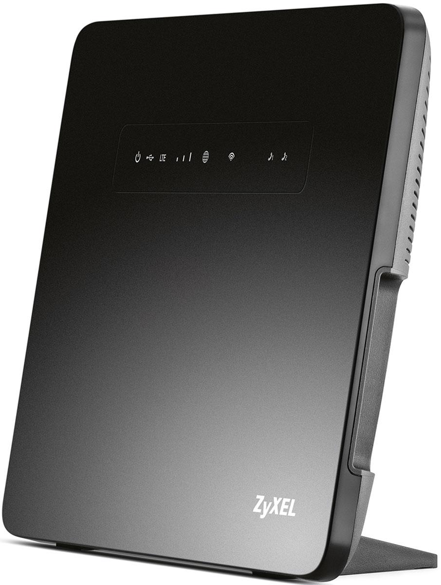 Zyxel Keenetic LTE беспроводной маршрутизаторKEENETIC LTEИнтернет-центр Zyxel Keenetic LTE — это постоянный доступ в Интернет и цифровая телефонная связь для вашего загородного дома, квартиры или малого офиса. Он может быть подключен к Интернету через сотовую сеть 4G LTE, по выделенной линии Ethernet, через модемы ADSL/PON с портом Ethernet и даже через USB-модемы 3G/4G. Если для вас важен бесперебойный доступ в Интернет, вы можете подключить интернет-центр одновременно к двум провайдерам. При сбое в сети основного провайдера интернет-центр быстро переключится на работу с резервным. С интернет центром Zyxel Keenetic LTE вы сможете одновременно выходить в Интернет с нескольких смартфонов, планшетов и ноутбуков по Wi-Fi, играть в онлайн-игры, участвовать в файлообменных сетях, использовать телевизоры с функцией Smart TV. Для устройств, которым вы хотите разрешить пользоваться вашим интернет подключением, но не хотите предоставлять доступ к домашним устройствам, можно включить гостевую беспроводную сеть. К двум...