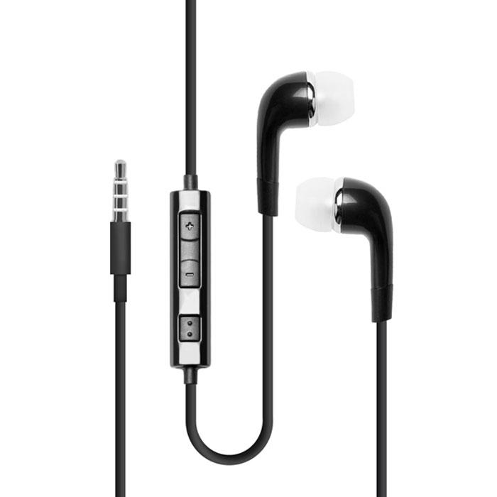 Deppa стереогарнитура с ПДУ для Samsung I9000, Black44128Deppa - миниатюрные наушники анатомической формы для вашего устройства Samsung I9000. Удобная посадка обеспечивает долгое, комфортное ношение. Качественные динамики передают чистый звук с выразительными низами и звонкими верхами. Длина кабеля: 1,2 м Чувствительность микрофона: 42 дБ