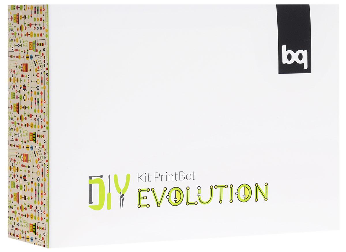 BQ Робот PrintBot EvolutionH000186Робот BQ PrintBot Evolution - самый прокачанный обучающий робот-конструктор от BQ. Он оснащен датчиком движения по линии, датчиками света и ультразвуковым датчиком. Этот робот помогает изучать программирование. С помощью онлайн портала BitBloq вы можете запрограммировать его совершать любые действия на визуальном языке программирования Scratch. Также вы можете управлять вашим роботом через Bluetooth с помощью приложения RoboPad на Android телефоне или планшете (устройства на iOS не поддерживаются). Благодаря датчикам робот может ориентироваться в пространстве, двигаться по заданной полосе, реагировать на свет и многое другое. Данный робот не просто так называется PrintBot, детали корпуса робота напечатаны на 3D принтере. Эти детали можно скачать, изменить и, если у вас уже есть 3D принтер, распечатать новые. Также вы можете вырезать из бумаги один из 3 костюмов, которые доступны для скачивания. Построение PrintBot Evolution помогает развивать творчество, работу в команде,...