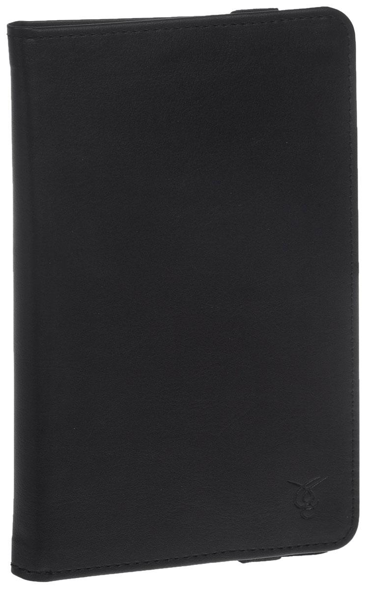 Vivacase Mini универсальный чехол-обложка для планшетов 7, Black (VUC-CMN07-bl)VUC-CMN07-blЧехол Vivacase Mini для планшетов с диагональю 7 дюймов предназначен для защиты вашего устройства от механических повреждений и влаги. Крепление EVS позволяет надежно зафиксировать девайс.
