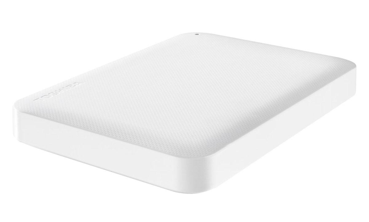Toshiba Canvio Ready 1TB, White внешний жесткий диск (HDTP210EW3AA)HDTP210EW3AAВнешний жесткий диск Toshiba Canvio Ready отличается высокими показателями по быстроте деятельности. Практически в течение считанных мгновений у вас появятся доступы к интересующим информационным данным. Такой результат достигается за счет эффективности действия интерфейса USB 3.0. Теперь вы сможете вести запись данных на скорости, равной 5 Гбит/с, что позволит копировать большие файлы в кратчайшие сроки. Обратная совместимость с интерфейсом USB 2.0 гарантирует стабильную работу с оборудованием предыдущего поколения: при помощи Canvio Ready удобно переносить информацию со старого компьютера на новый. Пропускная способность интерфейса: 5 Гбит/сек Поддержка ОС: Windows 10, Windows 8, Windows 7