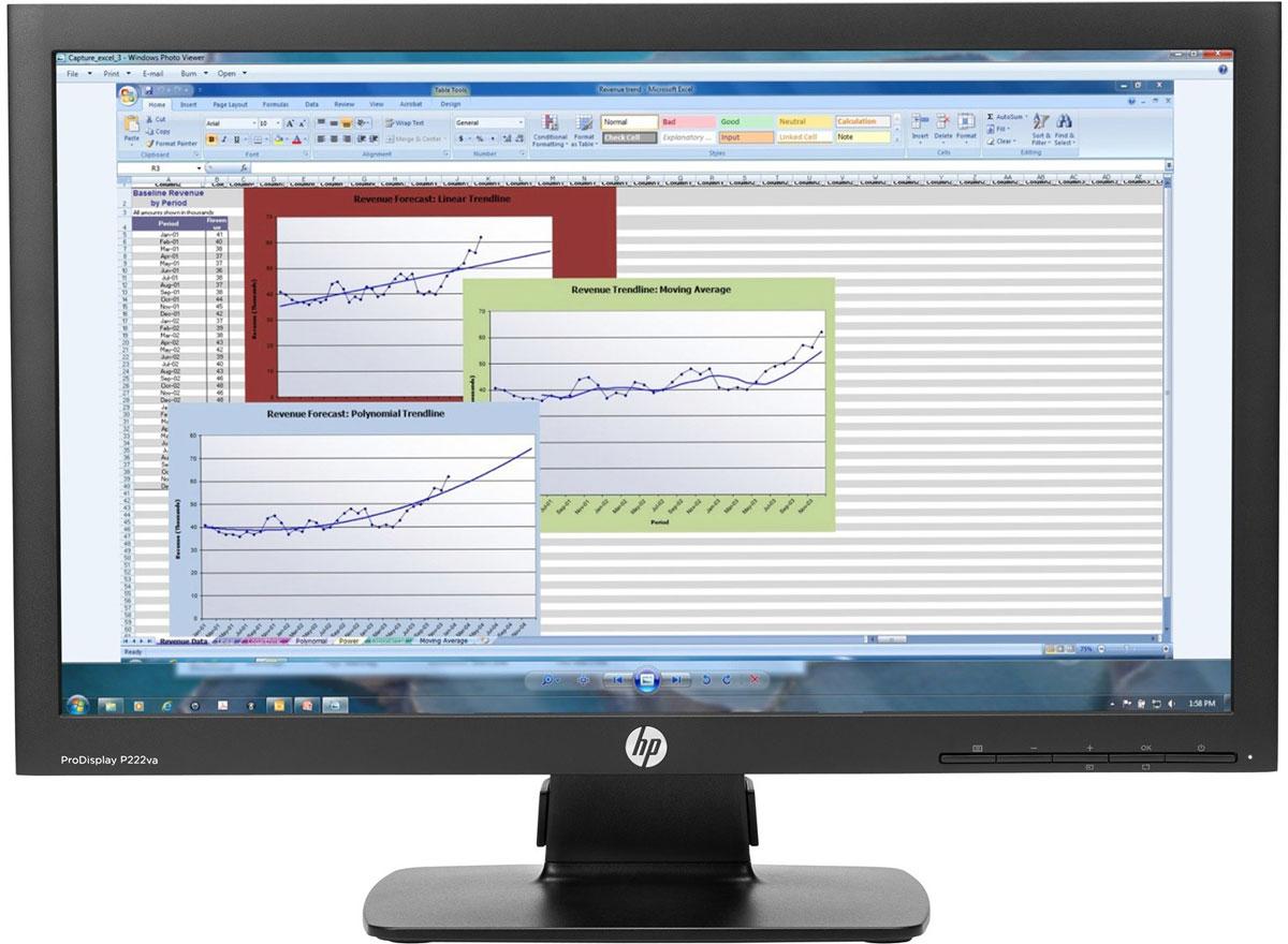 HP ProDisplay P222va монитор