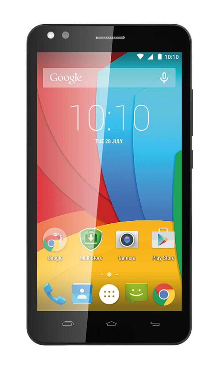 Prestigio Muze C3 Dual, GreyPSP3504DUOGREYPrestigio Muze C3 Dual - стильный смартфон, позволяющий делать красивые селфи, смотреть фильмы, играть в игры и общаться с друзьями. Новейший Android Lollipop: Material Design, отличная производительность и до 1,5 млн. приложений, в том числе, лучших от Google - Google Maps, Gmail, Drive, Photos, и другие. Как профессиональный фотограф: Смартфон оснащен продвинутой основной камерой 8 Мпикс и примечательной фронтальной - с разрешением 5 Мпикс и LED-вспышкой. Делайте качественные фотографии одним касанием, и пусть друзья завидуют вашим красивым селфи. Мощный: Четырехъядерный процессор с частотой 1,3 ГГц и 1 ГБ оперативной памяти обеспечивают высокую скорость работы при выполнении любых действий: просмотр видео онлайн, игры, серфинг в Интернете и прочего. Две сим-карты: Обладает функцией поддержки двух сим-карт. Вы будете всегда на связи со своими друзьями, независимо от того, услугами...