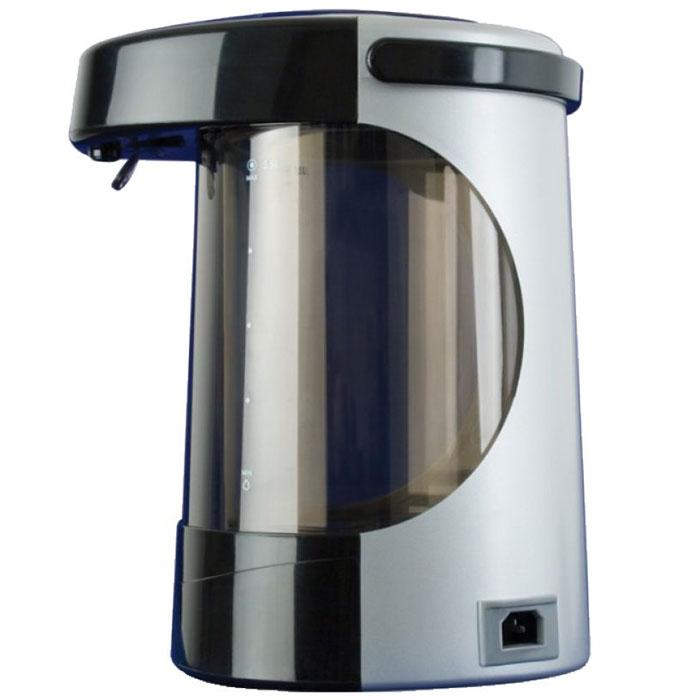 Scarlett IS-509 термопотIS-509Если вы любите стильную и надежную технику, то термопот Scarlett IS-509 станет прекрасным приобретением! Вам понравится дизайн устройства. Корпус из прочного пластика выполнен в сочетании черного и серого цветов, за счет чего Scarlett IS-509 будет прекрасно смотреться на любой кухне. Колба из высококачественного термостойкого стекла сохраняет природные свойства воды. Вы оцените и функциональность данного термопота. Не обязательно каждый раз доводить воду до кипения, ведь в устройстве есть возможность нагрева воды от 60 до 100 градусов, что позволит значительно экономить электроэнергию. С данным термопотом чайная церемония превратится в настоящее удовольствие! Режим поддержания оптимальной температуры Режим повторного кипячения Возможность вращения на 360° Съемный шнур Блокировка кнопки разлива воды 2 способа разлива воды Индикация режима работы