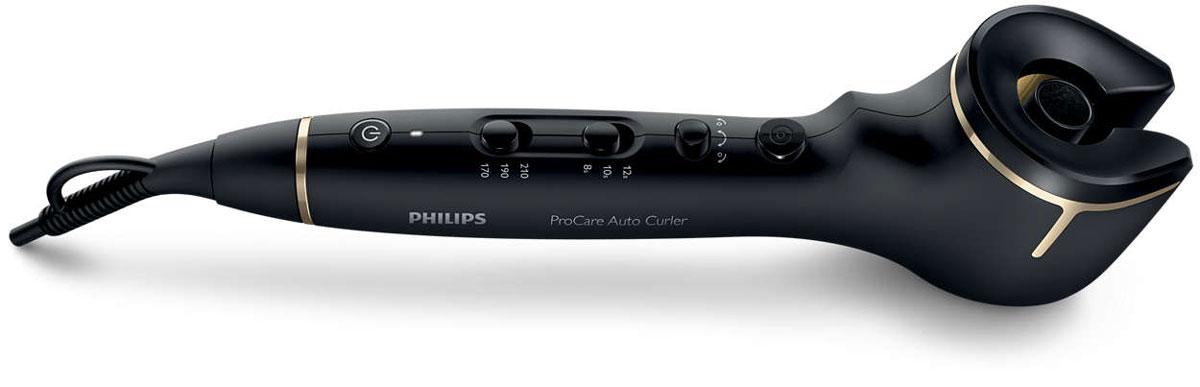 Philips ProCare HPS940 стайлер для автоматической завивкиHPS940/00Щипцы для завивки Philips ProCare Auto позволяют создавать превосходные локоны. Благодаря профессиональному бесщеточному мотору прядь волос автоматически накручивается на титаново- керамический нагревательный корпус, нагревается и завивается — всегда идеальные локоны. Щипцы для завивки Philips ProCare Auto накручивают прядь волос на нагревательный корпус для создания идеальных локонов. Профессиональный вращающийся титаново-керамический корпус для быстрой завивки, гладких и блестящих волос. Титаново-керамическое покрытие корпуса равномерно распределяет тепло и создает превосходные локоны благодаря идеально гладкой поверхности. Надежный профессиональный бесщеточный мотор позволяет изменять направление завивки. Создавайте идеальные симметричные локоны, закрученные вправо или влево. Вы также можете использовать функцию автоматической завивки в двух направлениях для максимально естественного образа. 3 настройки температуры и 3...