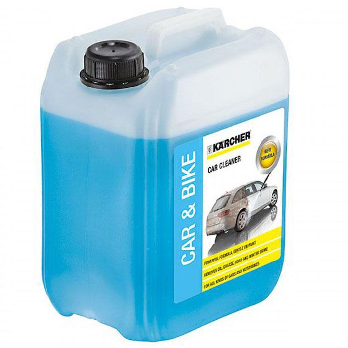 Автошампунь Karcher 5л 6.295-360.06.295-360.0Автомобильный шампунь Karcher 6.295-360.0 удалит сложные загрязнения, грязь и масло.