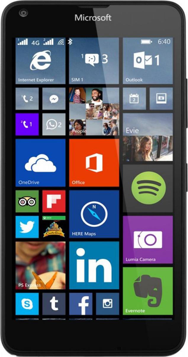 Microsoft Lumia 640 LTE, Black