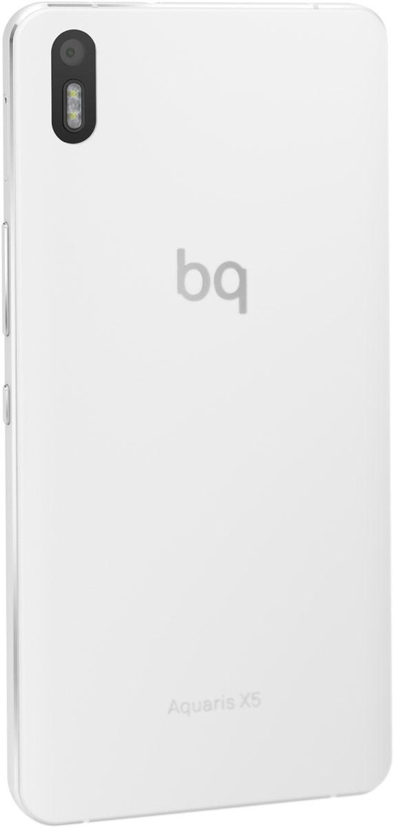 BQ Aquaris X5, White Silver