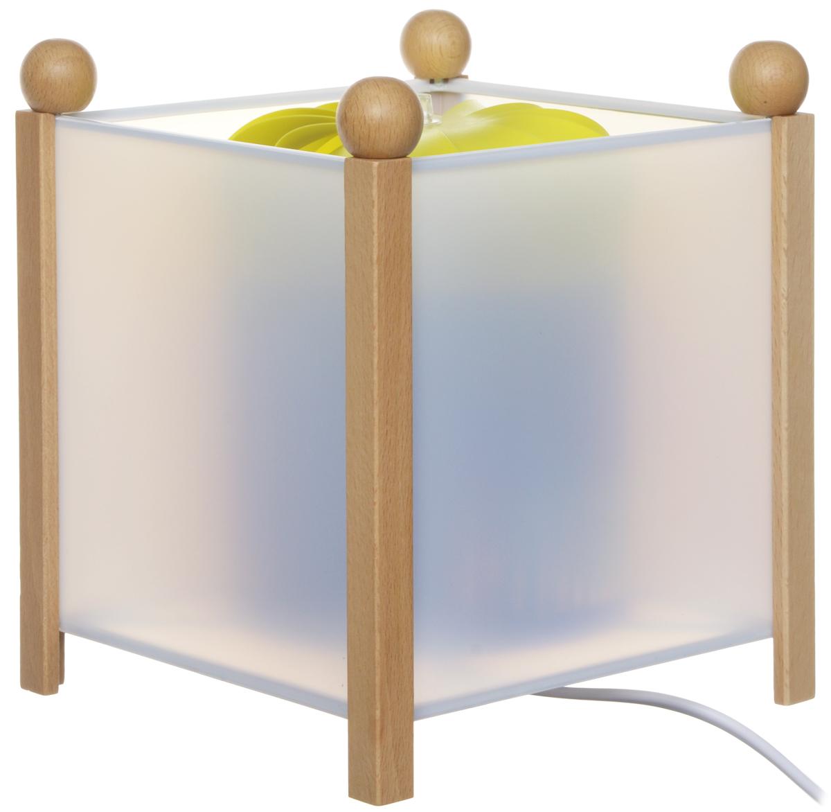 Trousselier Светильник-ночник с проектором The Beach4332 12VСветильник-ночник с проектором Trousselier The Beach - идеальный аксессуар для детской комнаты. Нежный свет и красочные картинки с изображением пляжа и морских обитателей создадут атмосферу уюта, успокоят и убаюкают кроху. Вы можете подобрать картинку, а также музыкальную подставку с подзаводом (опция). Ночник с двойной функцией - вращающаяся картинка внутри, либо как проектор на стену. Цилиндр ночника вращается благодаря системе нагрева от лампочки 12V-10W, цоколь E 14. Тип розетки: C. Соответствует нормам безопасности: CE EN 60598-2-10. Материал: металл, дерево, жароустойчивый пластик. В комплект входит светильник, сетевой адаптер.