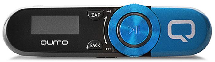 Qumo Magnitola 4Gb, Blue MP3-плеер