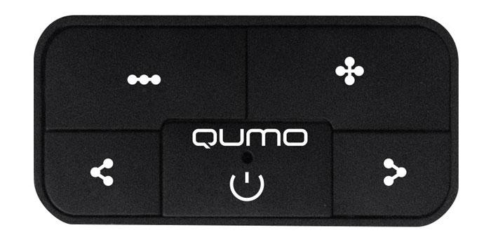 Qumo Marshmallow 4Gb, Black MP3-плеер