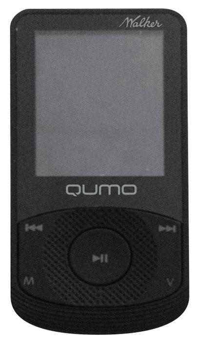 Qumo Walker 8Gb, Black MP3-плеер20758Универсальный плеер Qumo Walker с LCD-дисплеем 1.8 для воспроизведения аудио и видео файлов с классическим эргономичным дизайном и FM-радио. Помимо основной памяти можно использовать microSD карту. Также плеер можно использовать как картридер, позволяя сохранить на носитель не только музыку, но и важные документы.