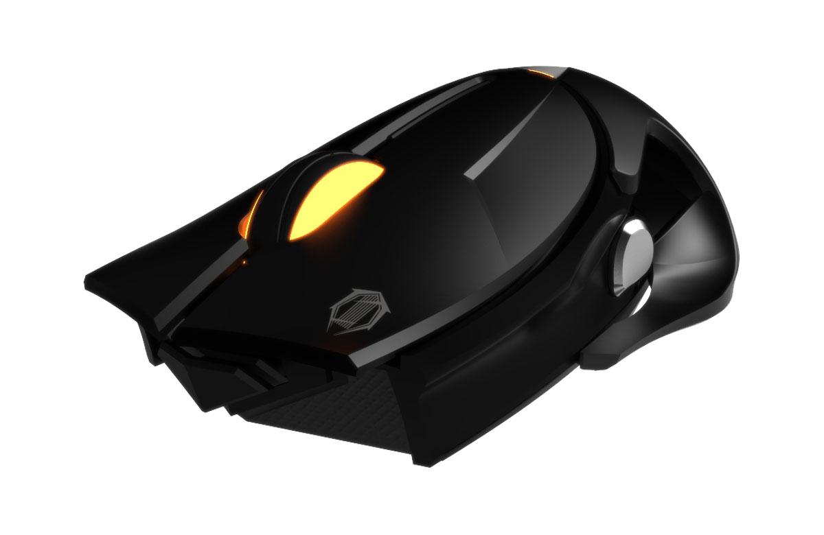 Gamdias Apollo Extension Optical, Black игровая мышьGM-GMS5101Игровая мышь Gamdias Apollo Extension Optical имеет мощный сенсор, эргономичную форму и качественное покрытие, поэтому станет верным союзником на поле битвы. Оптический сенсор с разрешением 3200 dpi, которое можно менять на лету, гарантирует безошибочное позиционирование мыши. 5 программируемых клавиш используются для назначения макрокоманд, профилей, клавишных сочетаний, управления мультимедийными функциями и функциями Windows. Настройка подсветки осуществляется в зависимости от предпочтений пользователя и освещенности помещения. Эргономичная конструкция со съемной панелью оптимальна для любого типа хвата, а симметричный корпус подойдет как правшам, так и левшам. Настраиваемая пользователем частота опроса составляет 125/250/500/1000 Гц. Жизненный цикл мыши - минимум 10 000 000 кликов при интенсивном использовании.
