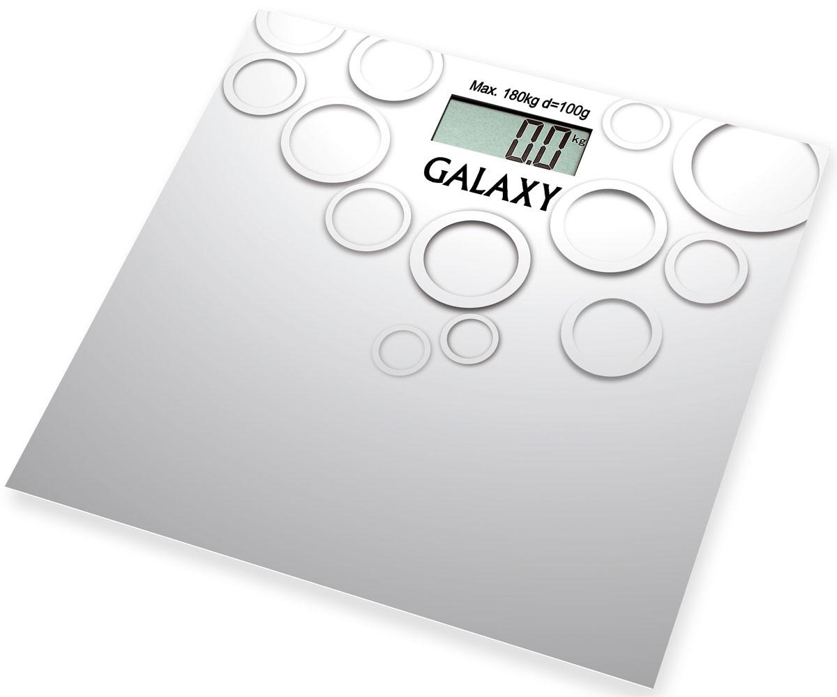 Galaxy GL 4806 весы электронные4650067301105Электронные весы Galaxy GL 4806 разработаны специально для тех, кто следит за своим здоровьем и физической формой. Стильный дизайн, ультратонкий корпус, большой дисплей! Сверхточная сенсорная система датчиков. Прорезиненные ножки. Весы работают от 1 батарейки CR2032.
