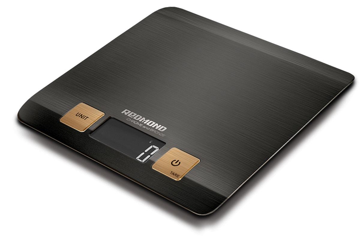Redmond RS-CBM727 весы кухонныеRS-CBM727Кухонные весы Redmond RS-CBM727 – ультрастильная топовая новинка с впечатляющим сдержанным дизайном и экологичным декором, предназначенная для взвешивания продуктов весом до пяти килограммов. Полезный кухонный прибор, который обязан быть на любой современной кухне. Стоит лишь однажды воспользоваться этими плоскими и сверхточными кухонными весами – и вы в них моментально влюбитесь! Кухонные весы Redmond RS-CBM727 для удобства имеют четыре единицы измерения – это грамм / жидкая унция / фунт / миллилитр. В данной модели притягивает взгляд большой и чёткий ЖК-дисплей с подсветкой, который показывает корректную массу продукта вплоть до одного грамма. Неоспоримыми преимуществами устройства являются такие практичные функции, как автоматическое отключение через одну минуту, вычет веса тары, индикация перегрузки и низкого заряда батареи. Redmond RS-CBM727 представляют собой настоящий маленький шедевр высоких технологий и образец удивительной...