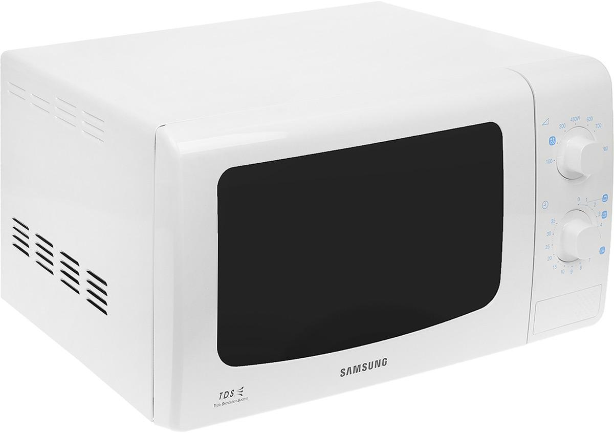 Samsung ME-713KR, White микроволновая печьME713KR/BWTМикроволновая Печь Samsung ME713KR 800Вт (20л.) белый