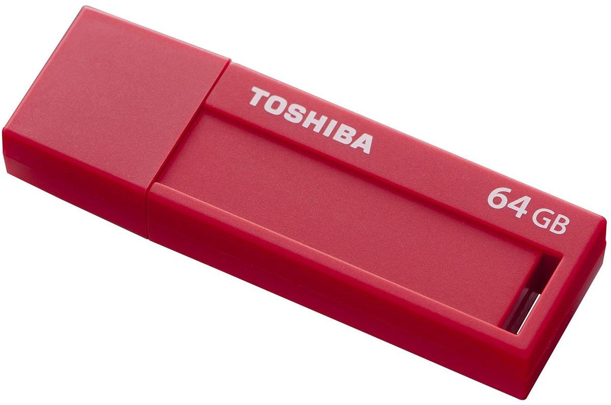 Toshiba Daichi 64Gb, Red USB-накопительTHNV64DAIRED(6Стандарт USB 3.0 Накопители Toshiba Daichi USB 3.0 подходят во всех USB 3.0 - портов и позволят вам всегда иметь под рукой внушительное количество фильмов, музыки, фотографий и документов. Выдвижной механизм надежно защищает соединительный разъем от повреждений и поломок, а также загрязнений. Модный дизайн USB - накопители Toshiba Daichi предлагают вам сочетание простоты использования с лаконичным дизайном. Хранить информацию и делиться ей намного интереснее с накопителями Toshiba Daichi! Специальное место для заметок размером 9 x 33 мм и этикетки для записей позволит вам делать пометки о хранящейся на флешке информации. Легкий и компактный USB флэш-накопители Toshiba Daichi имеют малый вес и поэтому идеальны для путешествий! Они отлично подходят для портативных устройств, таких как ноутбуки, планшеты или цифровые рамки. Кроме того, этот девайс порадует вас необычайно низким энергопотреблением!