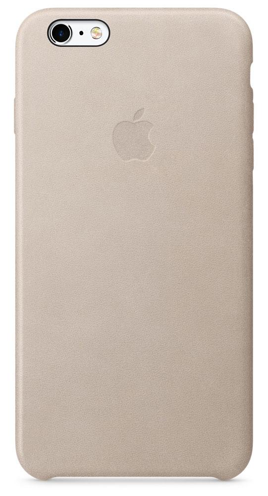 Apple Leather Case чехол для iPhone 6s Plus, Rose GrayMKXE2ZM/AApple Leather Case - роскошный чехол, изготовленный из специально обработанной и выделанной кожи европейского производства и спроектированный теми же дизайнерами Apple, которые работали над iPhone. Каждый чехол идеально облегает телефон, поэтому ваш iPhone 6s Plus или iPhone 6 Plus по-прежнему будет выглядеть невероятно тонким. Мягкая внутренняя поверхность чехла, выполненная из микроволокна, защитит корпус вашего iPhone. А его внешняя сторона порадует вас глубоким оттенком: специальная технология окраски позволяет цвету буквально проникать в структуру кожи.