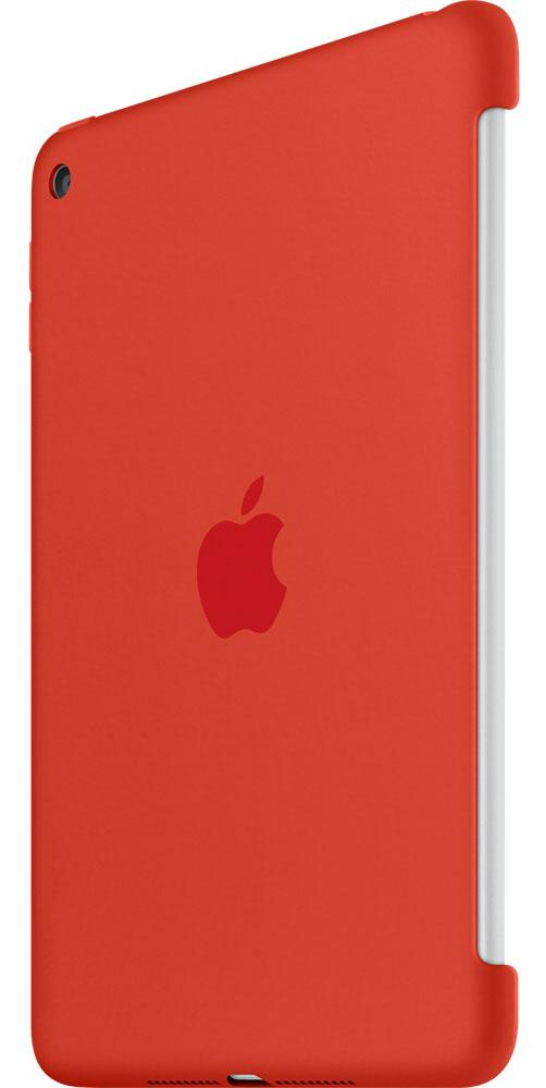 Apple Silicone Case чехол для iPad mini 4, Orange