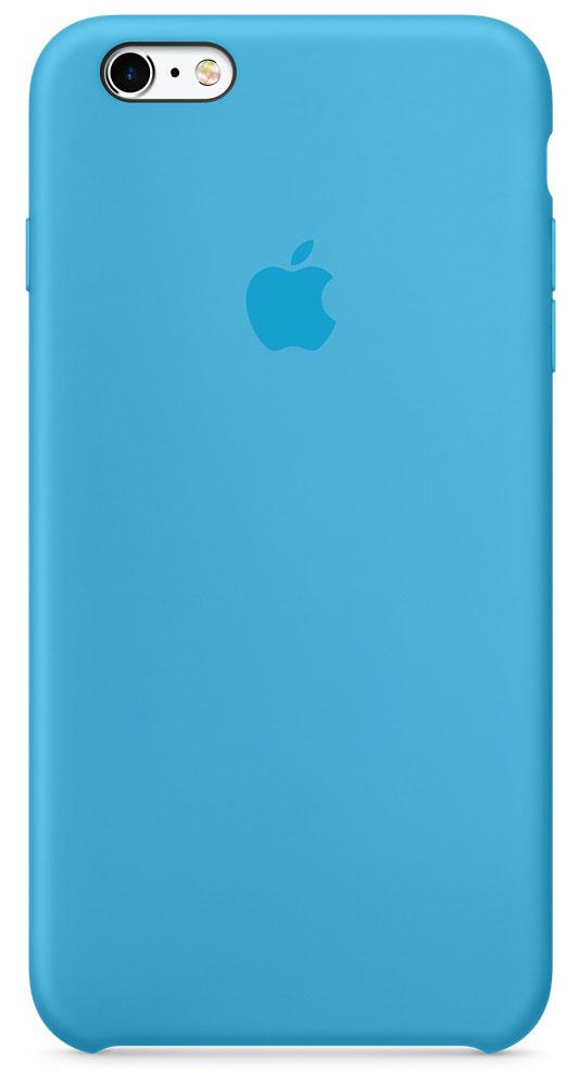 Apple Silicone Case чехол для iPhone 6s Plus, BlueMKXP2ZM/AApple Silicone Case плотно прилегает к кнопкам управления громкостью и режима сна. Он точно повторяет контуры iPhone 6s Plus и iPhone 6 Plus, поэтому телефон не выглядит громоздким. Мягкая внутренняя поверхность чехла, выполненная из микроволокна, защитит корпус вашего iPhone. А внешняя поверхность с шелковистой силиконовой отделкой очень приятна на ощупь.