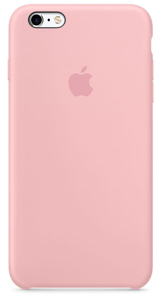 Apple Silicone Case чехол для iPhone 6s Plus, PinkMLCY2ZM/AApple Silicone Case плотно прилегает к кнопкам управления громкостью и режима сна. Он точно повторяет контуры iPhone 6s Plus и iPhone 6 Plus, поэтому телефон не выглядит громоздким. Мягкая внутренняя поверхность чехла, выполненная из микроволокна, защитит корпус вашего iPhone. А внешняя поверхность с шелковистой силиконовой отделкой очень приятна на ощупь.