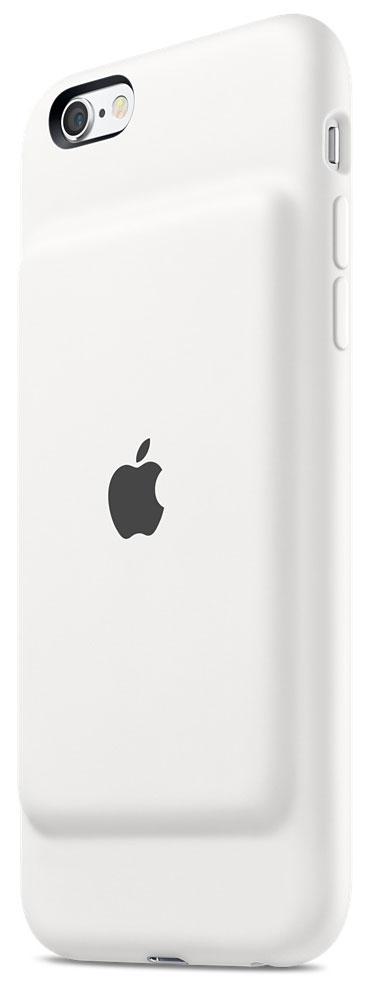 Apple Smart Battery Case чехол-аккумулятор для iPhone 6s, WhiteMGQM2ZM/AЧехол Apple Smart Battery Case разработан специально для увеличения заряда аккумулятора и защиты iPhone 6s и iPhone 6. Мягкая подкладка из микроволокна защищает корпус вашего iPhone, а благодаря шарнирной конструкции из эластомерного материала чехол легко снимать и надевать. Внешняя силиконовая поверхность чехла очень приятна на ощупь. Заряжайте свой iPhone и чехол с аккумулятором одновременно. Вы получите возможность до 25 часов говорить по телефону, до 18 часов работать в интернете через LTE, ещё дольше слушать музыку и смотреть видео. Когда iPhone находится в чехле Smart Battery Case, на экране блокировки и в Центре уведомлений отображается индикатор аккумулятора с точными данными об остатке заряда. Чехол с аккумулятором поддерживает аксессуары с разъёмом Lightning, например кабель Lightning/USB (входит в комплект поставки iPhone). Его также можно использовать с док-станцией для iPhone с разъемом Lightning (продается отдельно). Выберите один из...