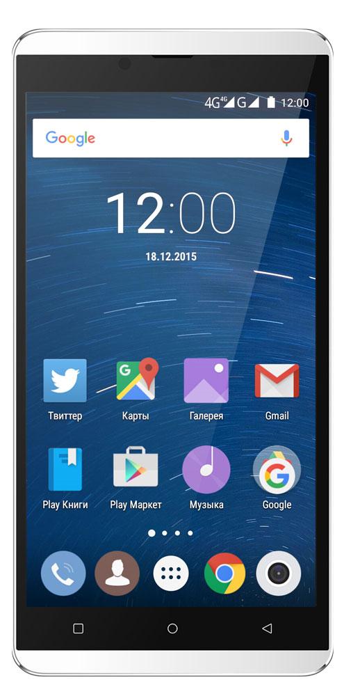 Highscreen Bay, White23037Highscreen Bay - смартфон с изысканным дизайном и толщиной всего 7.2 мм. Благодаря улучшенной эргономике смартфоном удобно пользоваться одной рукой. Диагональ 5,5 дюймов - оптимальный формат для тех, кто хочет смартфон и планшет в одном решении. Яркий AMOLED-экран с HD-разрешением способен отображать мельчайшие детали, он даст возможность в полной мере насладиться играми, просмотром видео и веб-сёрфингом. Фазовый автофокус обеспечивает мгновенную (0.1 с) и точную фокусировку. Светочувствительность выше на 30% по сравнению с обычными BSI-сенсорами. Улучшенная цветопередача даже в условиях недостаточной освещенности. Создавайте удивительные снимки и видео. Данная модель может похвастаться продвинутыми музыкальными возможностями, встроенный эквалайзер с поддержкой технологии DTS позволит насладиться качественным звучанием ваших любимых треков. Теперь не надо искать какой стороной вставить провод для зарядки и синхронизации. USB...