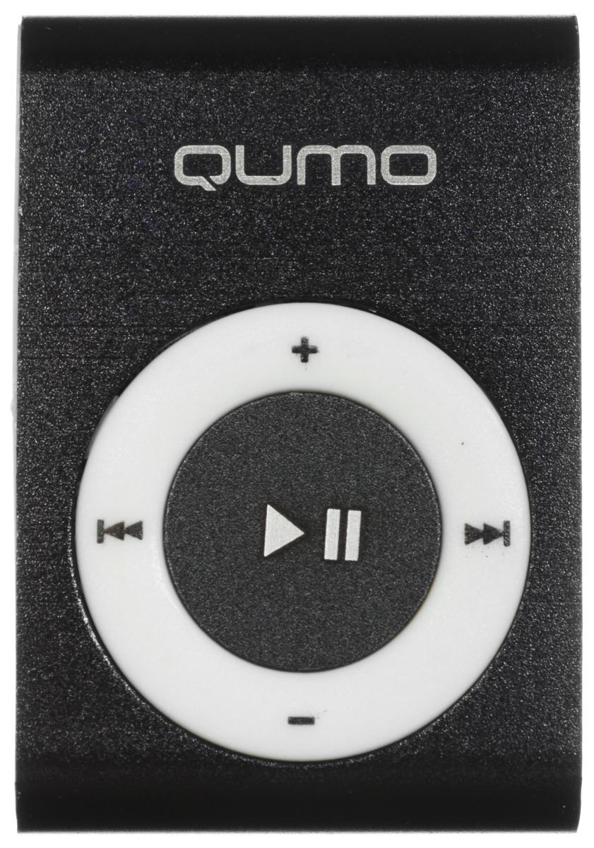 Qumo Fair 4Gb, Black MP3-плеер