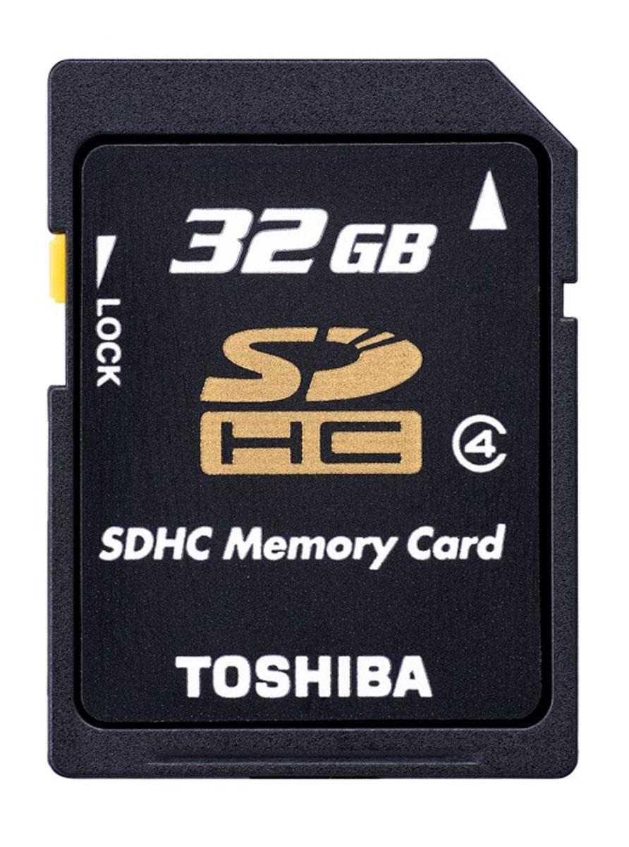 Toshiba SDHC Class 4 32Gb карта памятиSD-K32GJ(6Карты Toshiba High Speed Standard послужат расширением памяти вашего устройства. Это дополнительный объем (от 4 до 32 ГБ) для хранения музыки, видео и фотографий. Кроме того, на карты памяти Toshiba можно сохранять видеоклипы в формате Full HD. SD-карты памяти Toshiba High Speed Standard полностью совместимы с последней спецификацией Ассоциации SD. SD-карты Toshiba созданы на основе энергонезависимых компонентов памяти и не содержат движущихся частей, которые могут сломаться. Карты памяти SD производства Toshiba разработаны в соответствии с принятыми в компании высокими стандартами качества, что подтверждается пятилетней стандартной ограниченной гарантией.