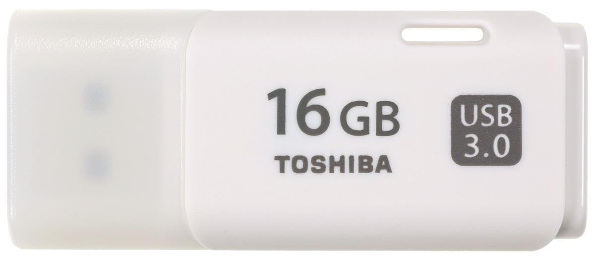 Toshiba Hayabusa USB 3.0 16Gb, White USB-накопительTHN-U301W0160E4Toshiba Hayabusa USB 3.0 - компактный и быстрый USB-накопитель. Перемещайте видео- и другие объемные файлы с данными с помощью высокоскоростного флеш-устройства компании Toshiba с интерфейсом USB 3.0. Этот накопитель новой серии позволяет переносить данные в два раза быстрее, чем при использовании интерфейса USB 2.0. В основу дизайна флеш-накопителя с интерфейсом USB 3.0 положена концепция самого популярного USB- накопителя компании Toshiba. Теперь вы можете наслаждаться высокой производительностью в сочетании с любимым дизайном. Накопители этой серии емкостью до 64 Гб предоставляют достаточно места для хранения ваших видео, фотографий и музыки.