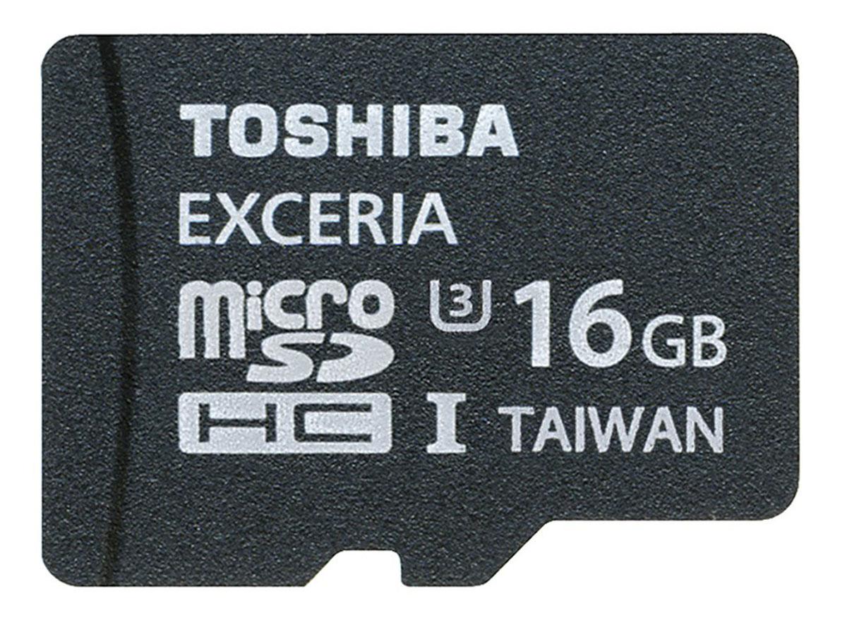 Toshiba Exceria microSDHC UHS-I Class 3 16GB карта памяти