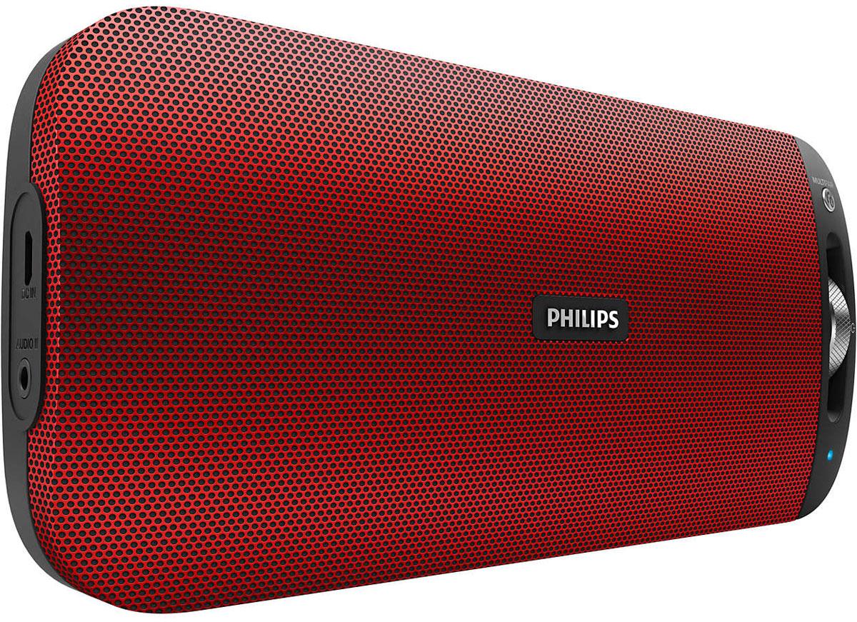 Philips BT3600R/00, Red портативная акустическая система