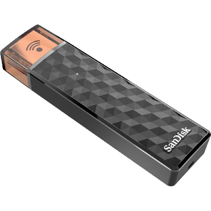 SanDisk Connect 16GB, Black беспроводной USB-накопительSDWS4-016G-G46SanDisk Connect - это USB-накопитель нового поколения, который работает и с компьютером, и с мобильными устройствами. Этот адаптер можно положить в карман, в сумку или куда угодно в комнате. Он обеспечивает беспроводной доступ к мультимедийным данным, позволяет переносить большие файлы, вести потоковую передачу музыки и видео высокой четкости, сохранять фотографии и видео на мобильное устройство и отправлять их друзьям с устройства. Представьте себе флеш-накопитель, который не нужно подключать к компьютеру, кроме как для зарядки. Представьте, что он взаимодействует с вашим телефоном, планшетом и компьютером, а также с устройствами всех ваших друзей без проводов. А теперь представьте, что он работает везде, где бы вы ни находились, даже если вы на кухне, а адаптер остался в вашей комнате. Установив приложение SanDisk Connect на мобильное устройство2, вы сможете отправлять, загружать, сохранять, передавать и воспроизводить все свои файлы на...