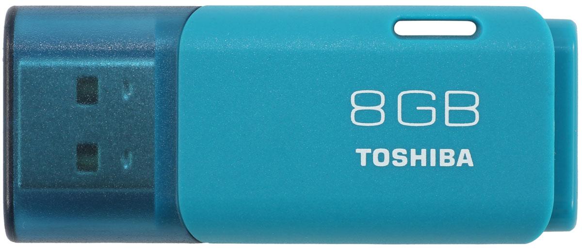 Toshiba Hayabusa USB 2.0 8Gb, Aqua USB-накопитель