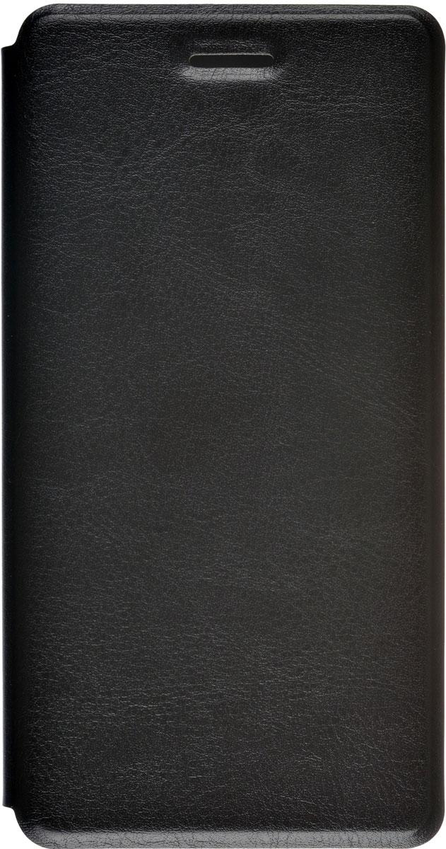 Skinbox Lux чехол для ZTE Blade L3, BlackT-S-ZBL3-003Чехол Skinbox Lux для ZTE Blade L3 выполнен из высококачественного поликарбоната и экокожи. Он обеспечивает надежную защиту корпуса и экрана смартфона и надолго сохраняет его привлекательный внешний вид. Чехол также обеспечивает свободный доступ ко всем разъемам и клавишам устройства.