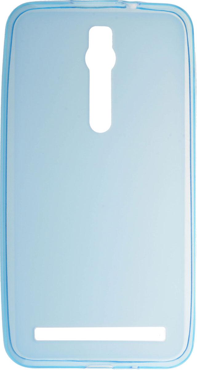 Skinbox Silicone чехол для Asus Zenfone 2 ZE550ML/551ML, Blue чехол asus бампер для asus zenfone 2 blue