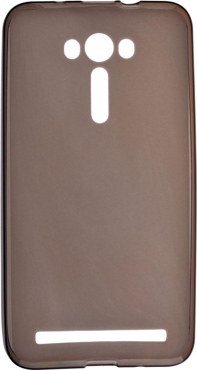 Skinbox Silicone чехол для Asus Zenfone Laser 2 ZE550KL, Brown