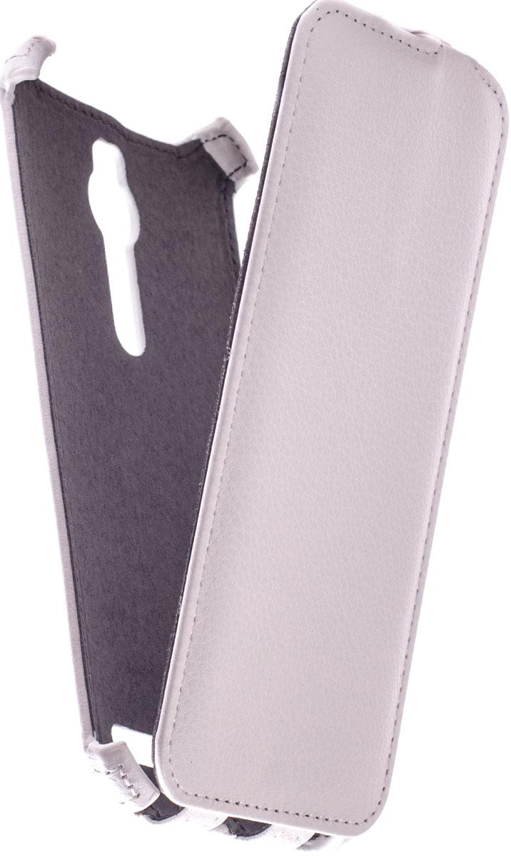 Prime Crabe чехол для Asus Zenfone 2 ZE550ML/551ML, WhiteT-FC-AZ2Чехол Prime Crabe для Asus Zenfone 2 выполнен из высококачественной экокожи. Он обеспечивает надежную защиту корпуса и экрана смартфона и надолго сохраняет его привлекательный внешний вид. Чехол также обеспечивает свободный доступ ко всем разъемам и клавишам устройства.