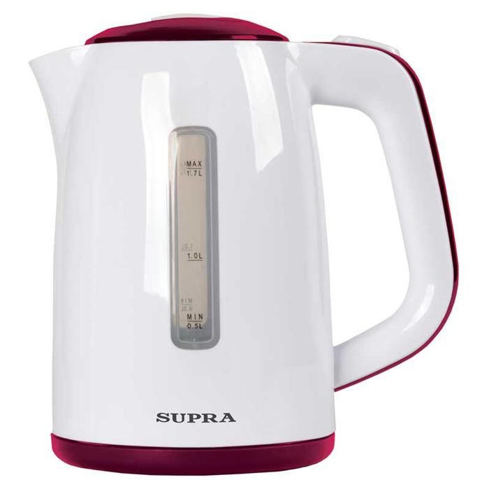 Supra KES-1728, White Burgundi чайник электрический