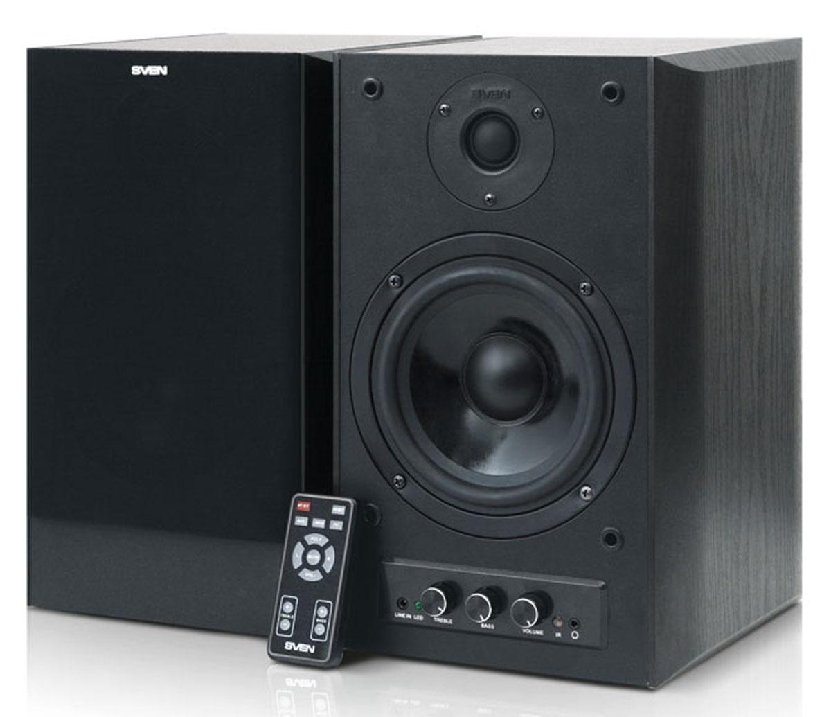 Sven Stream Mega R, Black акустическая система 2.0 ( SV-012STMRBK )