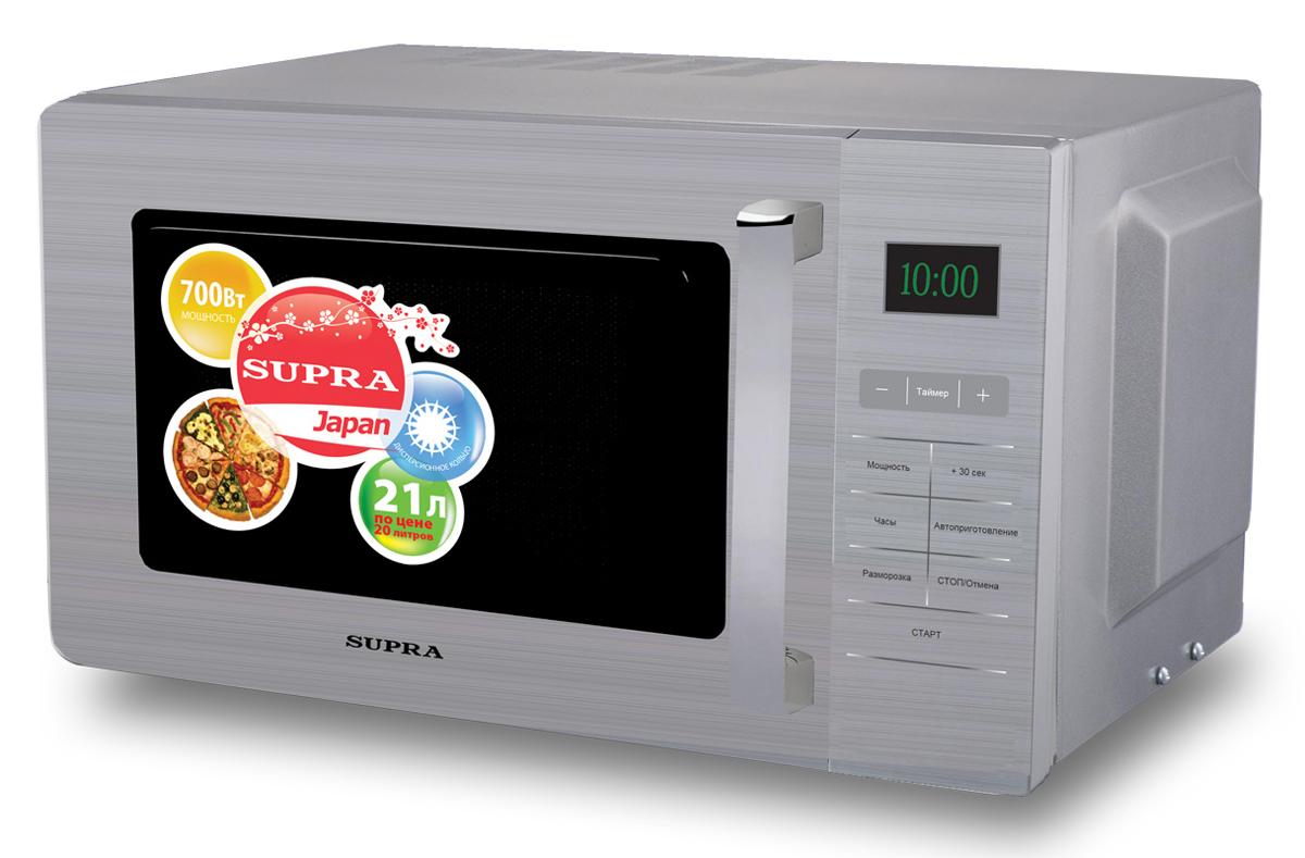 Supra MWS-2103SS микроволновая печь