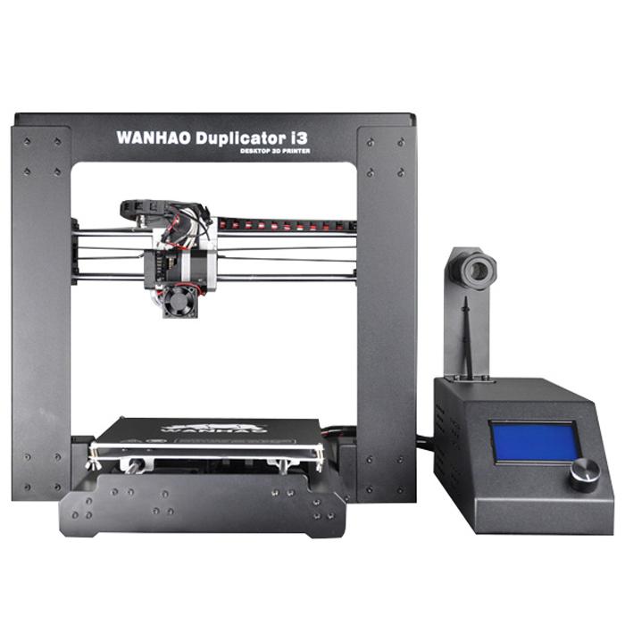 Wanhao Duplicator i3 3D принтерBi3В основу 3D принтера Wanhao Duplicator i3 заложена революционная разработка Йозефа Пруса (Josef Prusa) - принтер RepRap. Компания Wanhao с гордостью представляет 3D-принтер начального уровня, рассчитанный на клиентов, которые хотят начать 3D-печать без сборки комплекта, а получить уже готовый принтер Plug&Play. Среди особенностей нового Wanhao Duplicator i3 - экструдер MK10 с охлаждающим вентилятором на новом шасси, gcode в основе микро-контроллера, а также подогреваемая платформа. В отличие от большинства других принтеров типа Prusa, предложенных на рынке, Duplicator i3 в стандартной комплектации поставляется с электронным блоком управления, LCD-монитором и настраиваемым держателем нити. Технология печати: FDM\FFF Тип пластика: PLA (ПЛА), ABS (АБС) Размер области построения: 200 х 200 х 180 мм Количество экструдеров (печатающих головок): 1 Точность позиционирования по оси XY: 0.012 мм Точность позиционирования по оси Z: 0,0025 мм Диаметр...