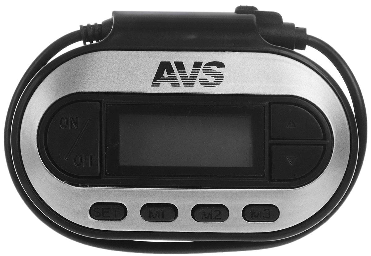AVS F-351, Black MP3-плеер + FM-трансмиттер с дисплеем
