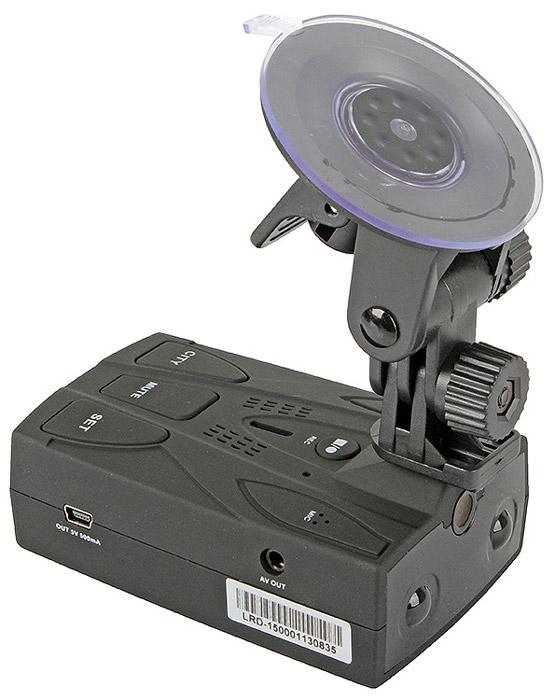 Lexand LRD-1500, Black видеорегистраторDrR Lex LRD-1500 blВидеорегистратор Lexand LRD-1500 является гибридом регистратора и встроенного радар-детектора. Работая в диапазонах X, K, Ka устройство видит большинство радаров и предупреждает о них за 800-1000 метров. Улавливать узконаправленные сигналы позволяет устройство с широкоугольным приемом лазерного диапазона на 360 градусов. Качественная запись видео Видеорегистратор ведет запись в формате HD со скоростью 30 кадров в секунду, благодаря чему видео получается качественным, с хорошо различимыми лицами и регистрационными номерами автомобилей. Подключив устройство с помощью разъема AV-Out к телевизору, можно просмотреть отснятый материал на большом экране.