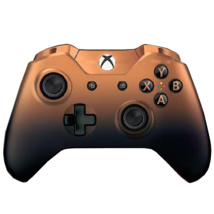 Xbox One Shadow Copper беспроводной геймпад