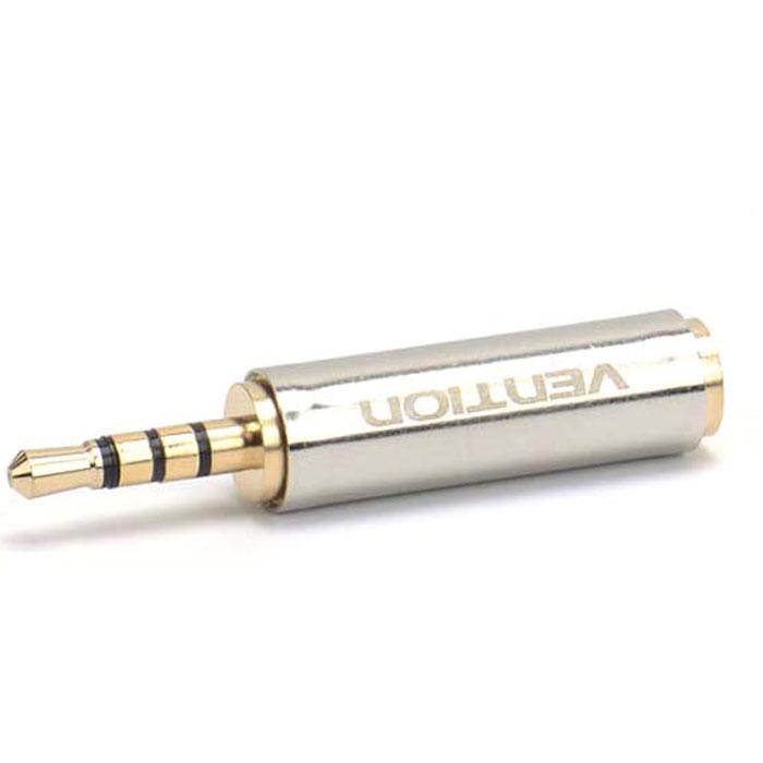 Vention Jack 3.5 mm-2.5mm переходникVAB-S02Переходник Vention предназначен для передачи аналоговых стереозвуковых сигналов из одного разъема в другой - между аудио, звукозаписывающими, студийными устройствами, или их компонентами. Контакты: 24K позолоченные, коррозийно-стойкие Рабочая температура: -40°C - 60°C Номинальный ток: AC - 5A / 500В ; DC - 5A / 250В Выдерживает напряжение: 1000В Интерфейс: стерео Материал проводника: чистая бескислородная медь