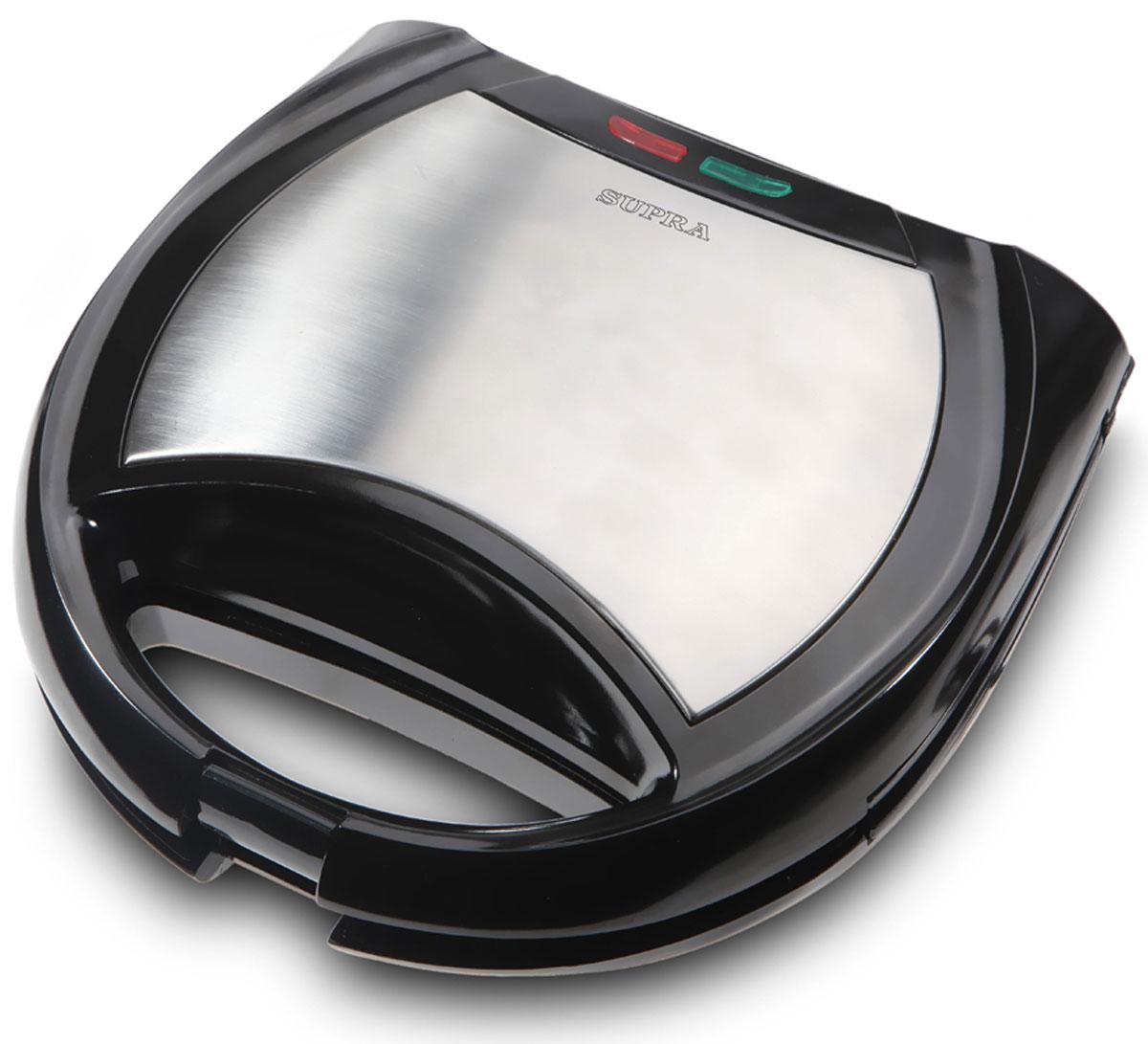 Supra WIS-444 вафельницаWIS-444Supra WIS-444 - простой в эксплуатации и удобный многофункциональный кухонный электрический прибор, позволяющий быстро и качественно поджарить домашние вафли или сэндвичи. Так же, благодаря сменным жарочным поверхностям, можно использовать прибор в качестве контактного гриля, обжаривая кусковые порции различных продуктов. Тип: 4 в 1 (вафельница, орешница на 12 половинок, сендвичница, гриль) Прорезиненные ножки Ручка с фиксатором Ненагревающиеся ручки Антипригарное покрытие