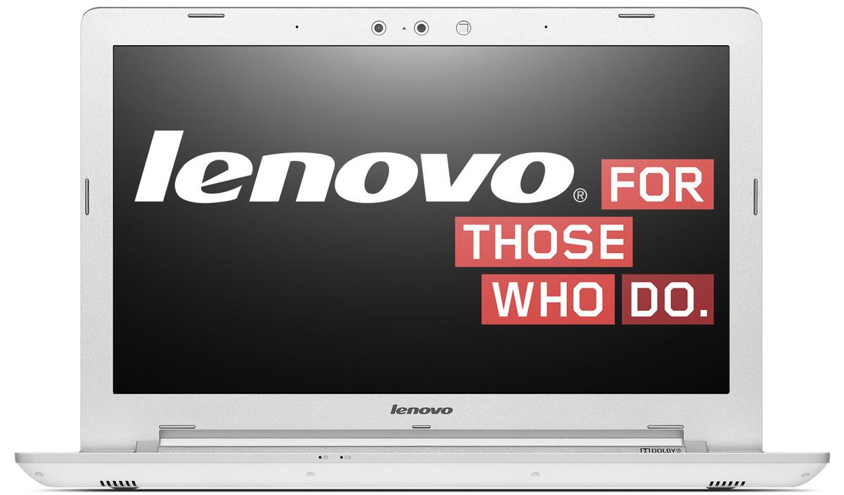 Lenovo IdeaPad Z5170, White (80K6017DRK)80K6017DRKНоутбук Lenovo IdeaPad Z5170 - это настоящий мобильный центр развлечений на базе процессоров пятого поколения Intel Core. Великолепный звук, дисплей стандарта Full HD и вместительный жесткий диск надолго создадут вам хорошее настроение. Четкое и яркое изображение: Lenovo Z51 не оставляет место компромиссам - Full HD дисплей (1920 x 1080) становится стандартом. Можно одновременно держать открытыми больше окон, наблюдать за игрой во всплывающем окне высокого разрешения, затаив дыхание, смотреть кино в конце рабочего дня. Сверхкачественный звук: Наслаждайтесь пространственным звучанием с полным эффектом присутствия благодаря использованию технологии Dolby Home Theater. Вся энергетика и оттенки эмоций фильма, вся непосредственность реальной театральной постановки - теперь на вашем ноутбуке. Встроенный DVD-привод с функцией чтения/записи: Вам не придется покупать внешний оптический привод - Lenovo Z51 укомплектован...