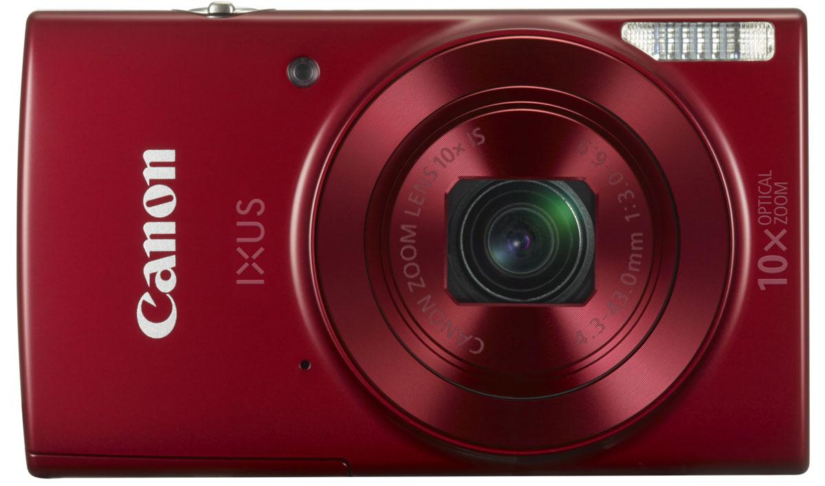 Canon IXUS 180, Red цифровая фотокамера1088C001Стильная и достаточно компактная, чтобы носить ее с собой, эта универсальная 20-мегапиксельная камера Canon IXUS 180 с поддержкой Wi-Fi, оптическим зумом 10x и системой интеллектуальной стабилизации изображения позволяет выполнять съемку простым наведением и получать результаты неизменно высокого качества. Компактный формат: Ультратонкую стильную камеру IXUS можно взять с собой, куда бы вы ни направились. Она оснащена универсальным широкоугольным объективом 24 мм и оптическим зумом 10x, а также функцией ZoomPlus для увеличения 20x, поэтому вы сможете с легкостью запечатлеть любой объект на любом расстоянии - и получить фотографии и видео превосходного качества. Автозумирование позволяет выбрать оптимальное кадрирование снимка одним нажатием кнопки. Мгновенные видеоролики в формате HD: Снимать замечательные видеоролики просто и весело. Одно нажатие кнопки - и вы уже снимаете видео HD (720p) в формате MP4. Почувствуйте свободу...