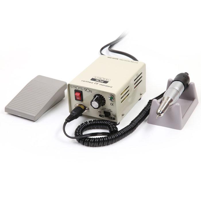 Saeshin Strong 90N/120 аппарат для маникюра и педикюра (с педалью в коробке 30000 об/мин)